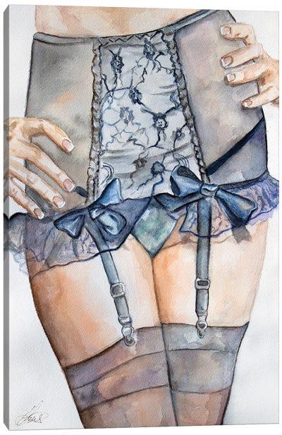 Midnight Blue Canvas Art Print