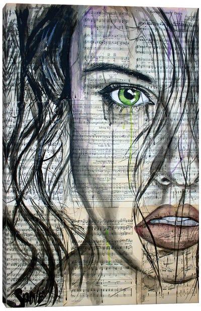 My Addiction Canvas Art Print