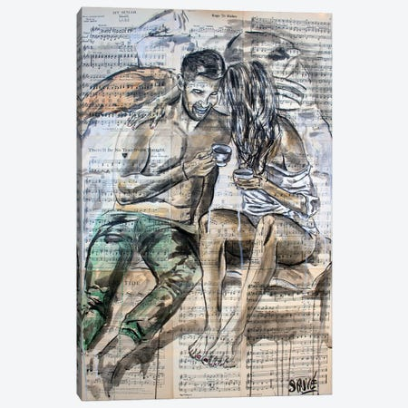 Date Night Canvas Print #JSU25} by Jason Sauve Canvas Print