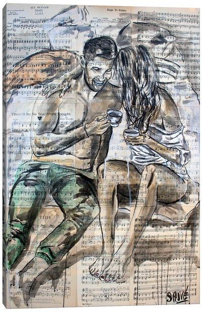 Date Night Canvas Art Print