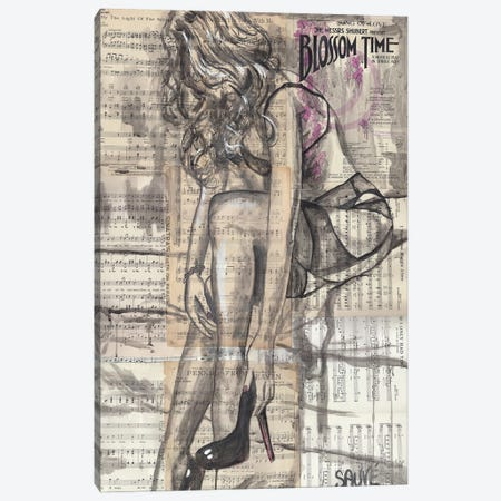 Song Of Love Canvas Print #JSU36} by Jason Sauve Canvas Art