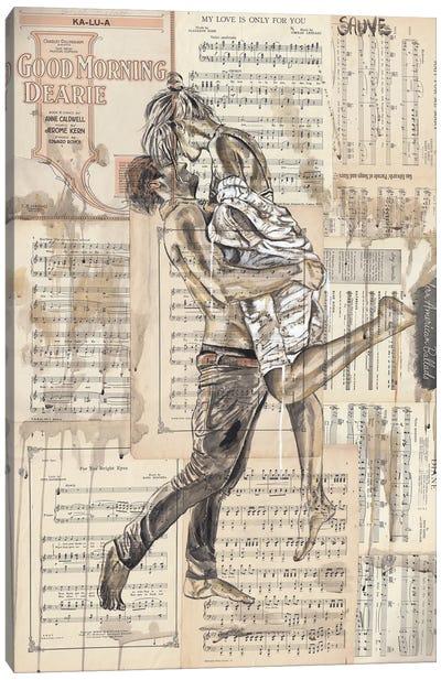 Morning Deary Canvas Art Print