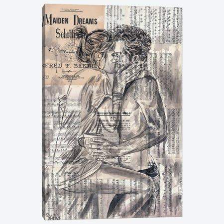 Morning Kiss Canvas Print #JSU40} by Jason Sauve Canvas Art