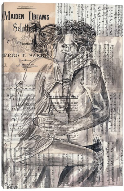 Morning Kiss Canvas Art Print