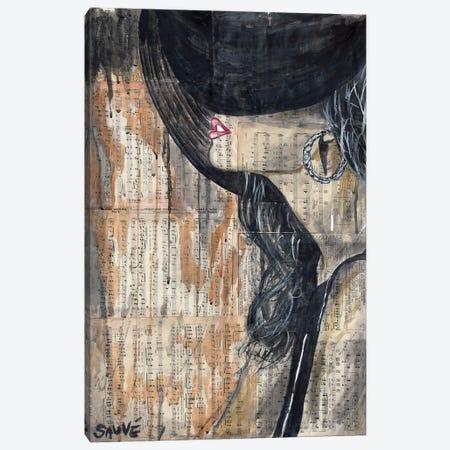 Sally Canvas Print #JSU47} by Jason Sauve Canvas Art Print