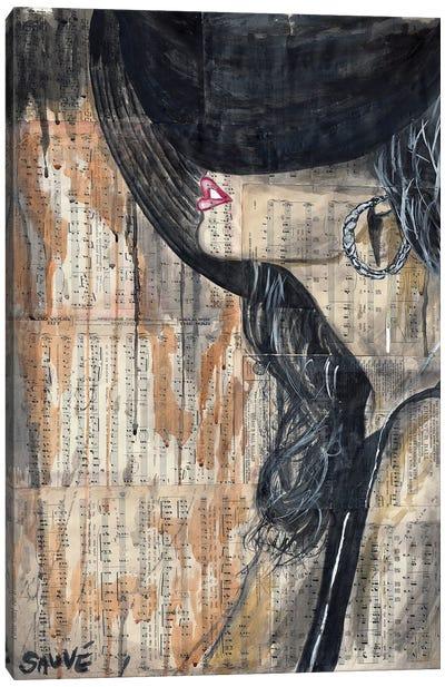 Sally Canvas Art Print