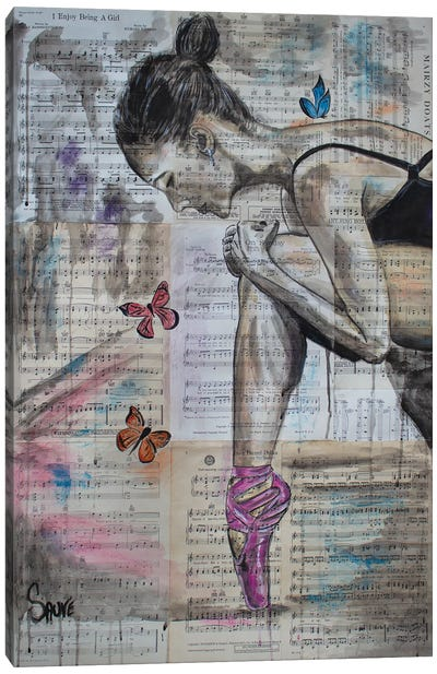 My Ballerina Canvas Art Print