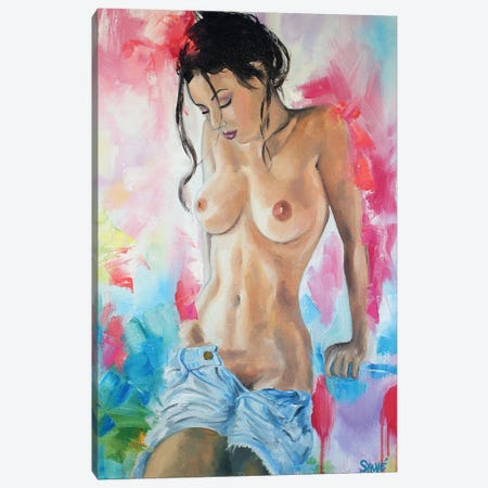 Someone To Love Canvas Print #JSU52} by Jason Sauve Canvas Art Print