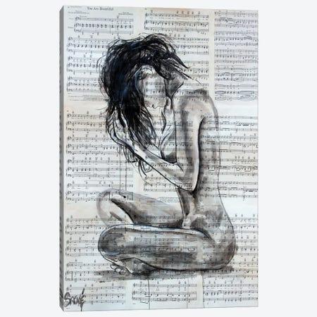 Give Yourself Away Canvas Print #JSU55} by Jason Sauve Canvas Art