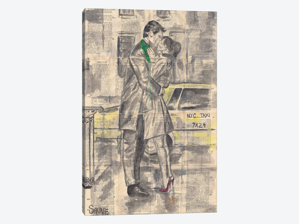 In A New York Minute by Jason Sauve 1-piece Canvas Artwork