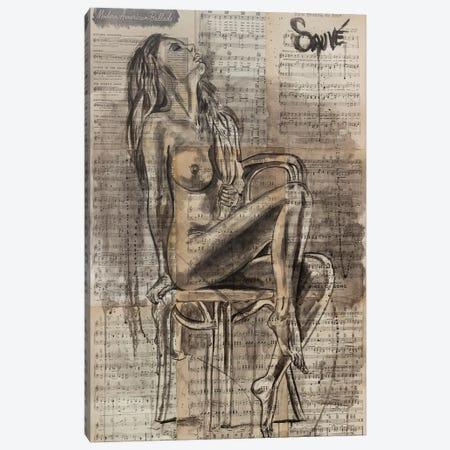 Iris Canvas Print #JSU65} by Jason Sauve Canvas Art Print