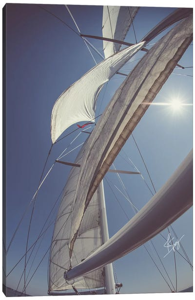 Clear Sailing Canvas Art Print