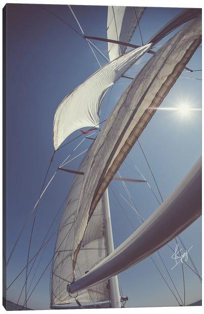 Clear Sailing Canvas Art Print
