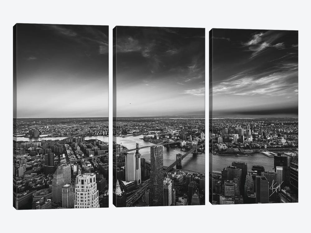 Peace Above by Justin Spivey 3-piece Art Print