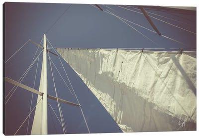 Sailing a Line Canvas Art Print