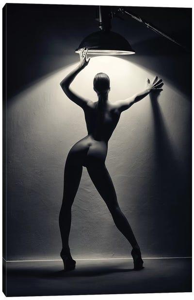 Woman In The Spotlight II Canvas Art Print