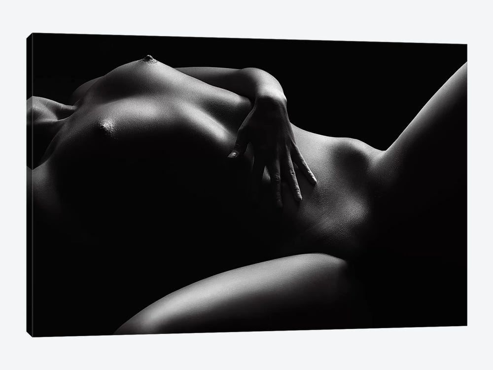 Nude Woman Bodyscape 46 by Johan Swanepoel 1-piece Canvas Wall Art