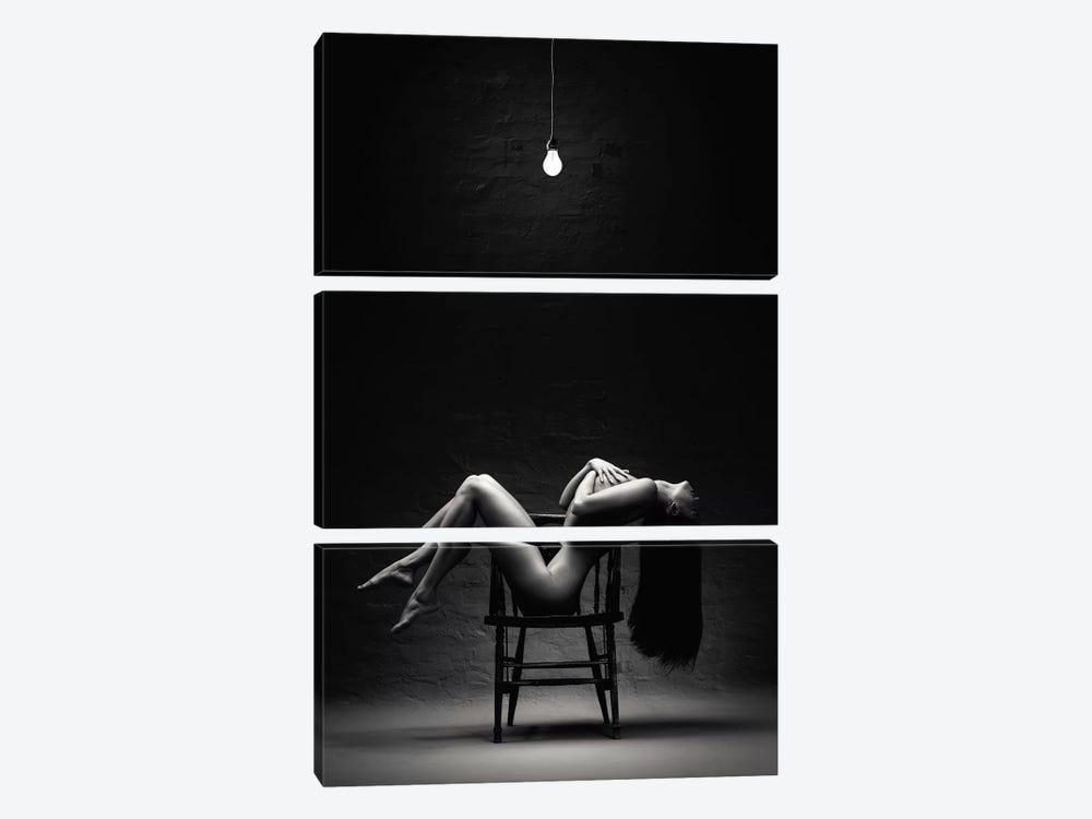 Bathing In Light by Johan Swanepoel 3-piece Art Print