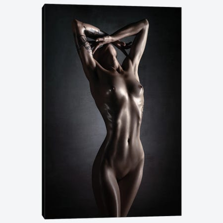 Nude Fine Art Colour II Canvas Print #JSW182} by Johan Swanepoel Canvas Artwork