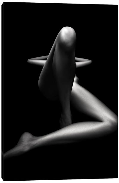 Nude Woman Bodyscape LXXVI Canvas Art Print