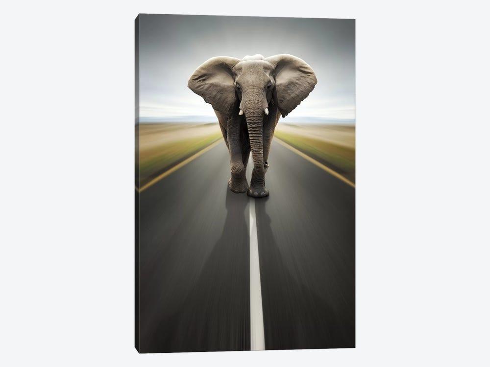 Heavy Duty Transport by Johan Swanepoel 1-piece Canvas Wall Art
