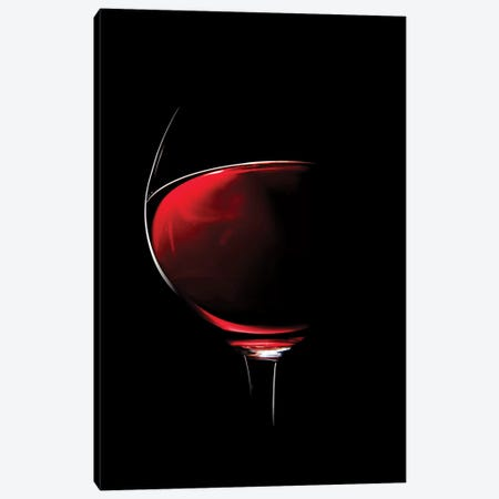 Red Wine Canvas Print #JSW92} by Johan Swanepoel Canvas Print