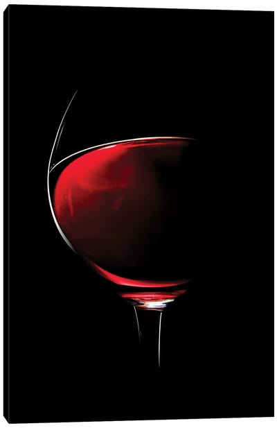 Red Wine Canvas Art Print