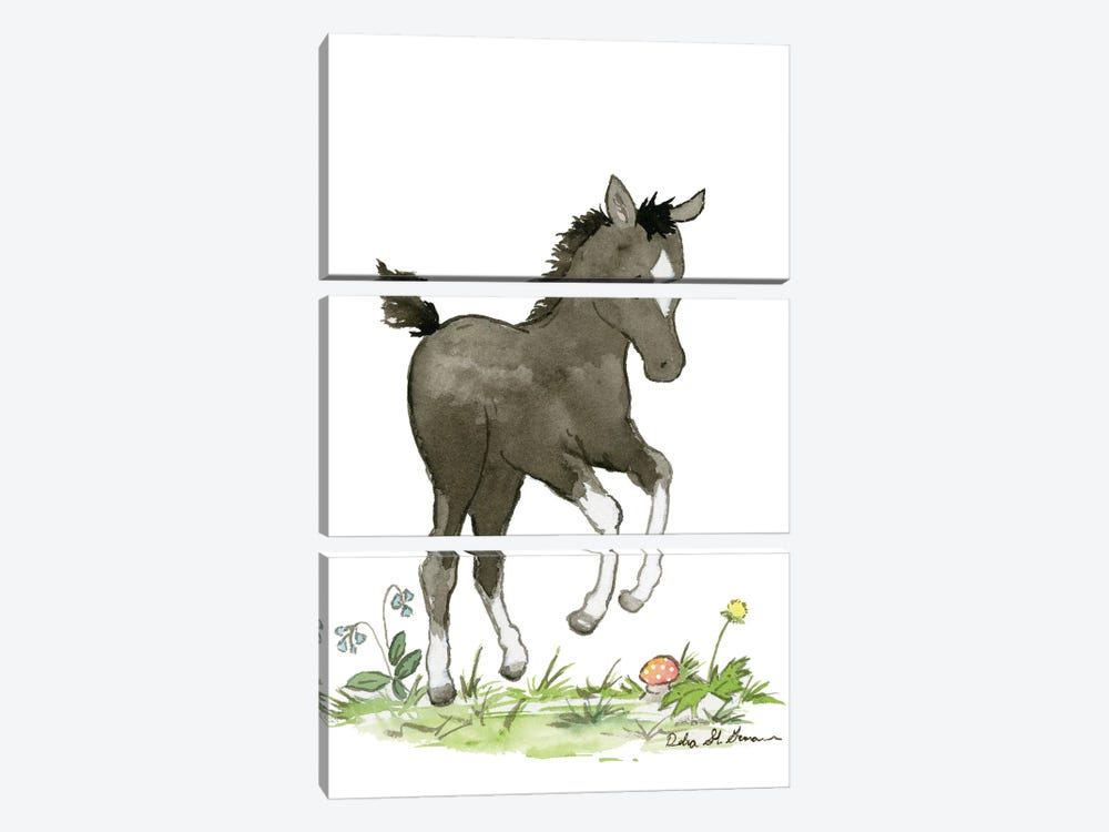 Frolic by Jasper And Ruby 3-piece Canvas Print