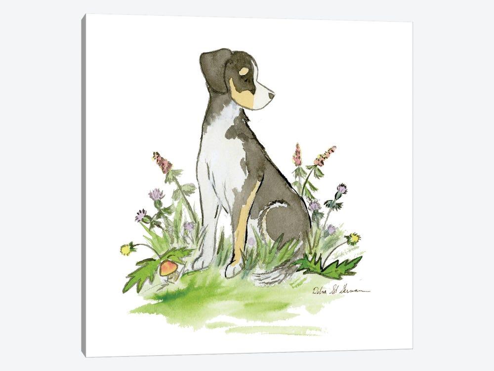 Little Hound Mix by Jasper And Ruby 1-piece Canvas Art