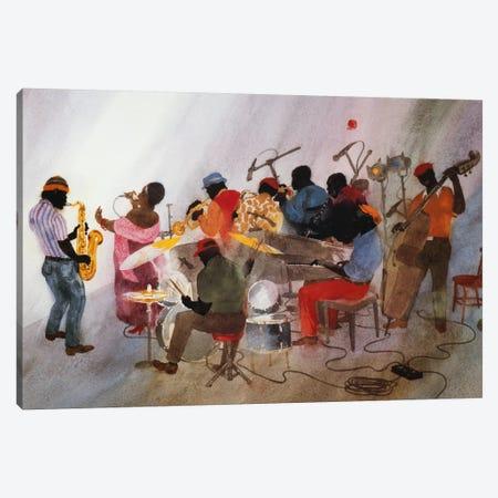 Wild Women Don't Have The Blues Canvas Print #JTA3} by Jim Tanaka Canvas Wall Art