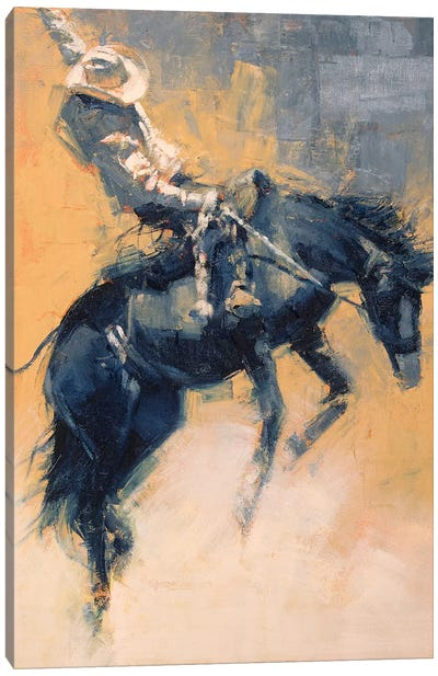 Mood Indigo III Canvas Art Print