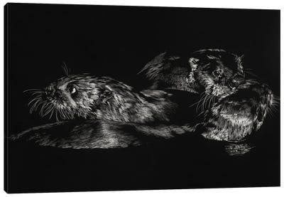 Fluid Dynamics Canvas Art Print