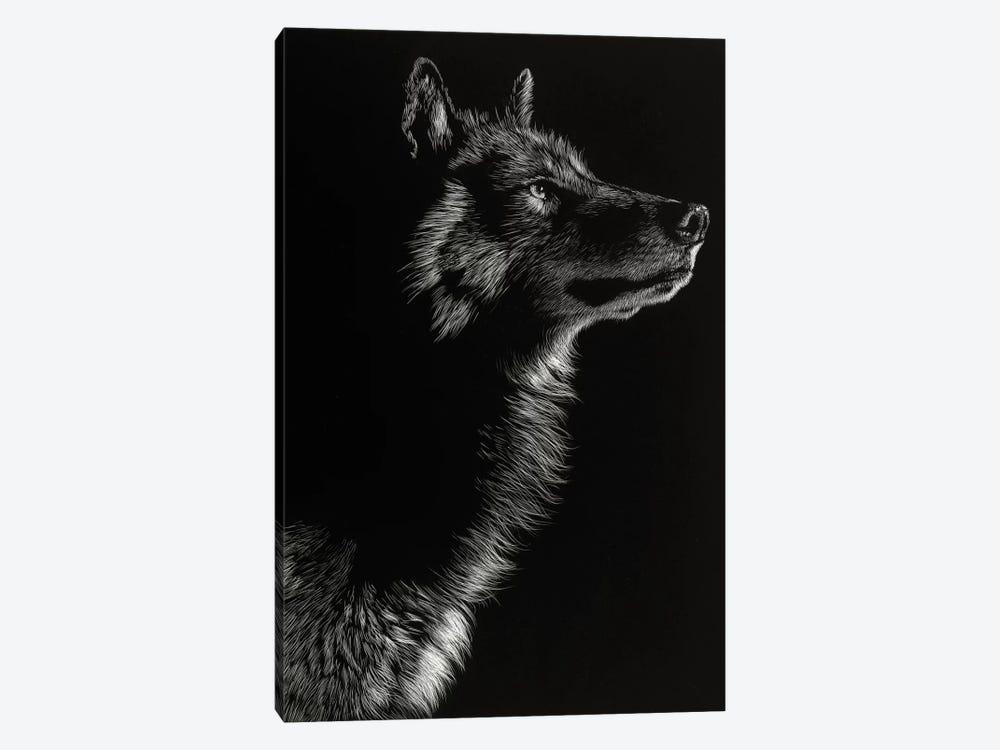 Wolf II by Julie T. Chapman 1-piece Canvas Artwork