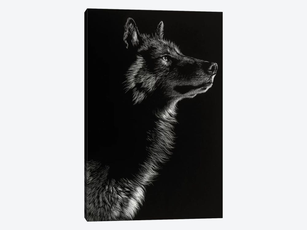 Wolf II 1-piece Canvas Artwork