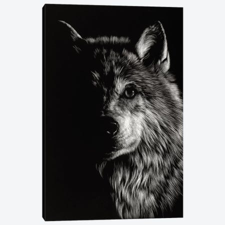 Wolf III Canvas Print #JTC15} by Julie T. Chapman Canvas Print