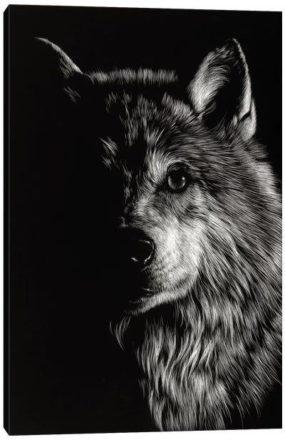 Wolf III Canvas Art Print