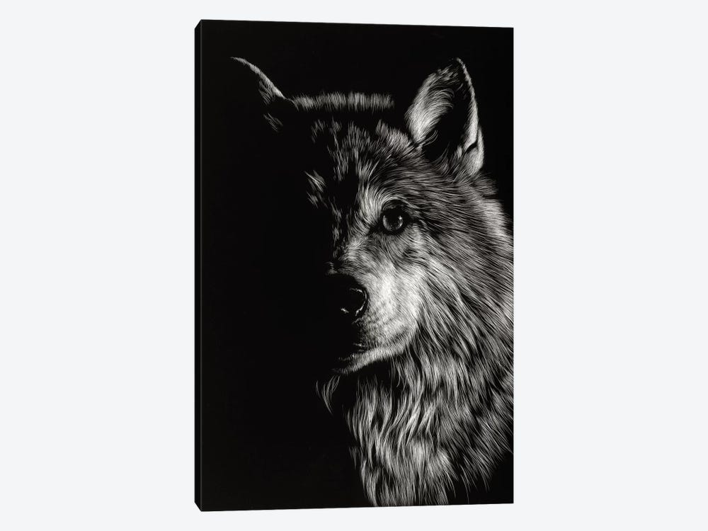 Wolf III by Julie T. Chapman 1-piece Art Print