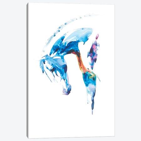 Blue Agate II Canvas Print #JTC23} by Julie T. Chapman Canvas Print
