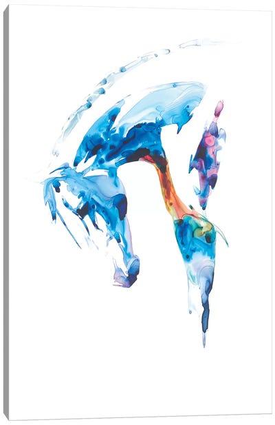 Blue Agate II Canvas Art Print