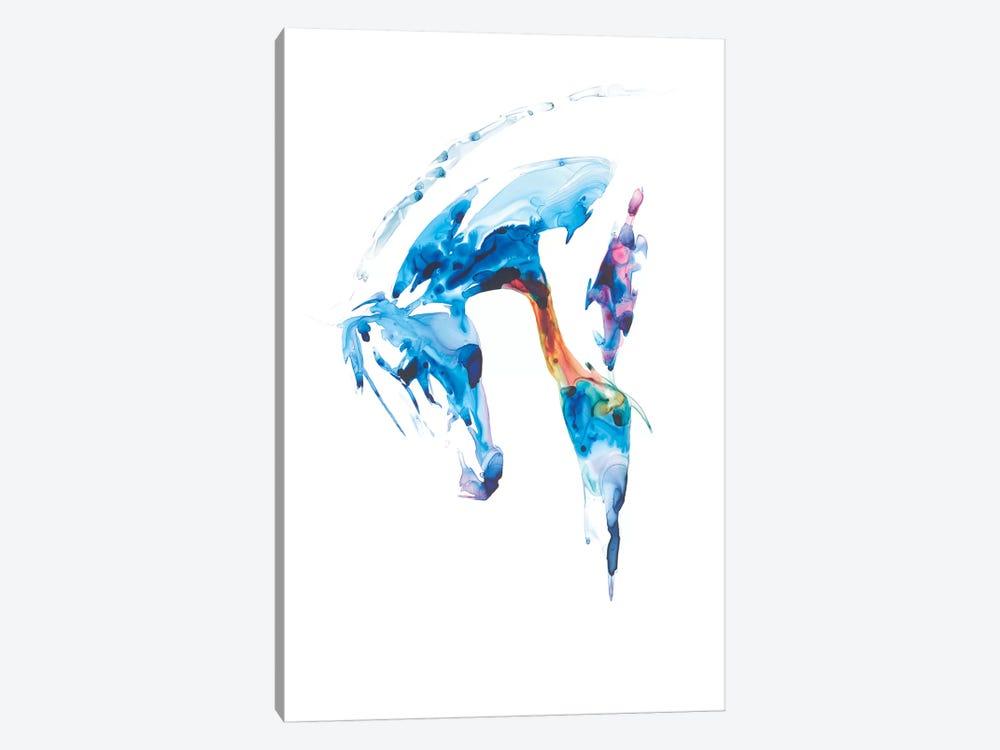 Blue Agate II by Julie T. Chapman 1-piece Canvas Art