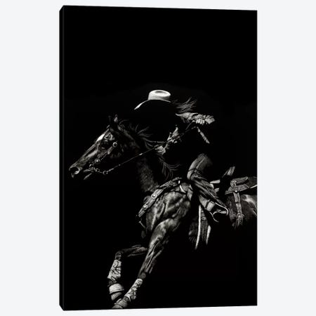 Scratchboard Rodeo I Canvas Print #JTC38} by Julie T. Chapman Canvas Art