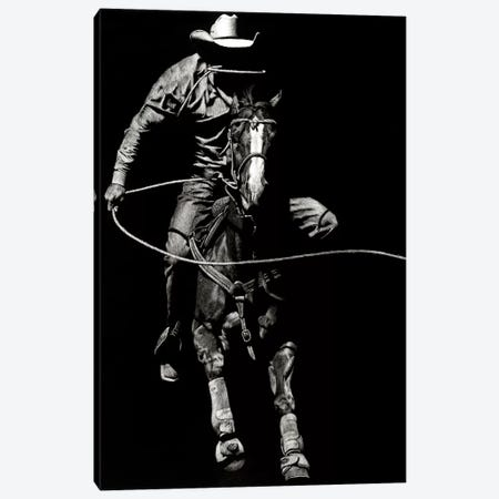 Scratchboard Rodeo VIII Canvas Print #JTC45} by Julie T. Chapman Canvas Wall Art