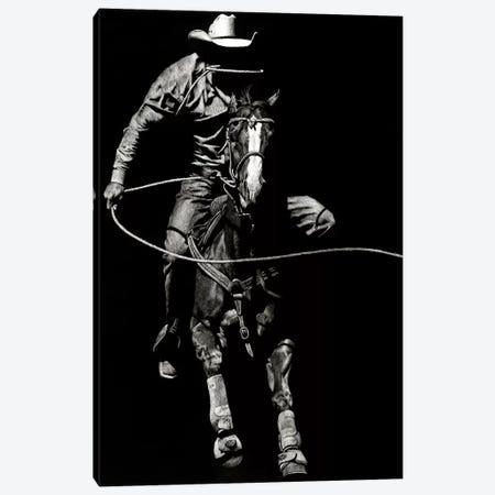 Scratchboard Rodeo VIII Canvas Print #JTC45} by Julie T. Chapman Canvas Wall Art