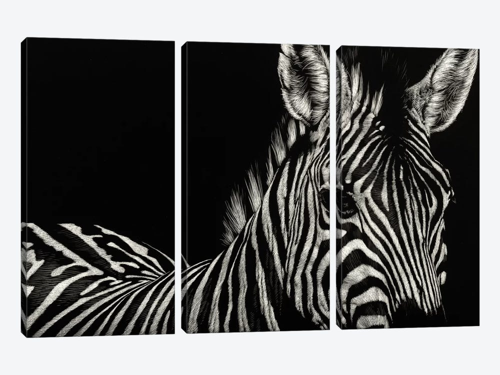 Incline by Julie T. Chapman 3-piece Canvas Art Print