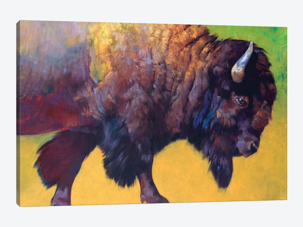 Da Bull by Julie T. Chapman 1-piece Canvas Wall Art