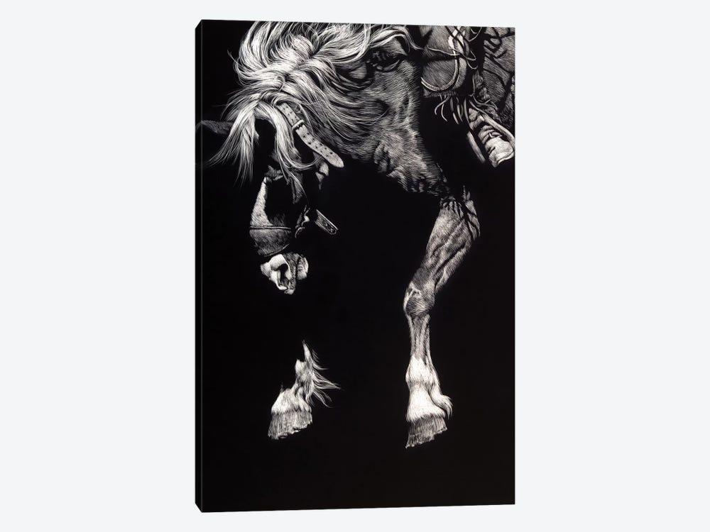Hangin' Four by Julie T. Chapman 1-piece Canvas Art Print