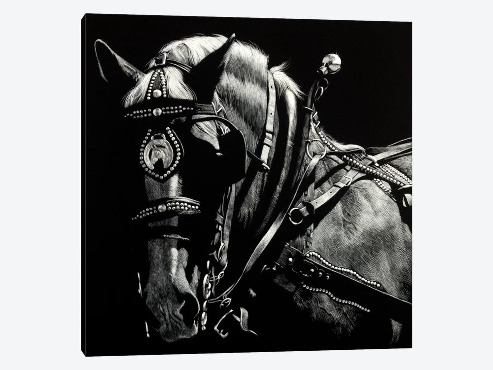 Rigging II by Julie T. Chapman 1-piece Canvas Art Print