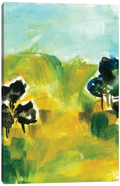Abstract Landscapes VI Canvas Art Print