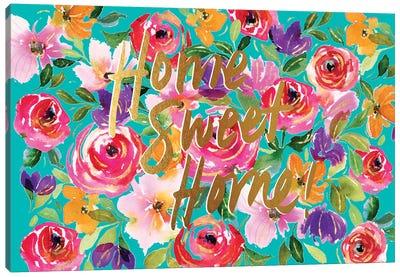 Floral Party B Canvas Art Print