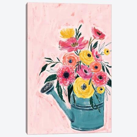 Spring Garden Canvas Print #JTG107} by Joy Ting Canvas Wall Art